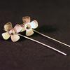 Pendientes flores pequeñas (Plata 950)