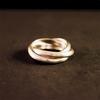 Anillo modelo Cartier en plata